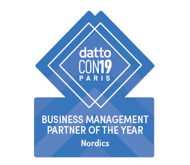 Golden datto badge BMPOY NORDICS